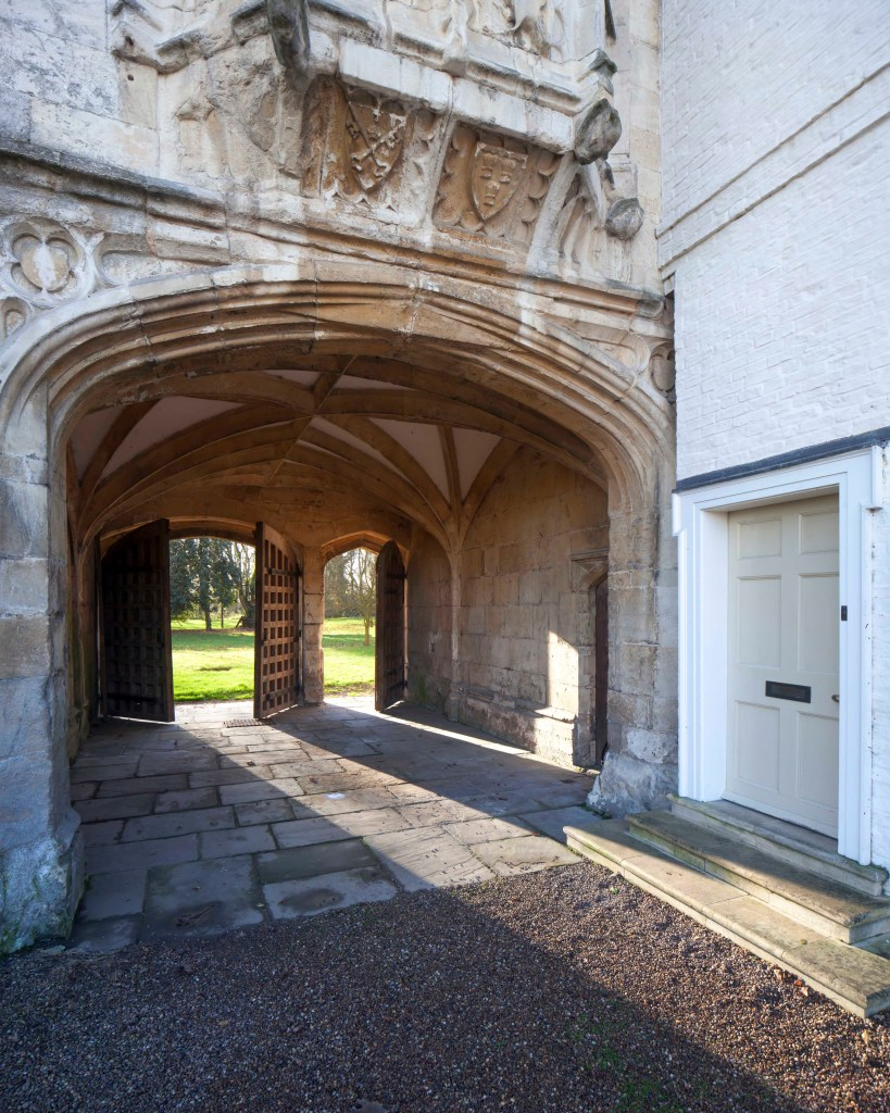 The gatehouse at Cawood Castle
