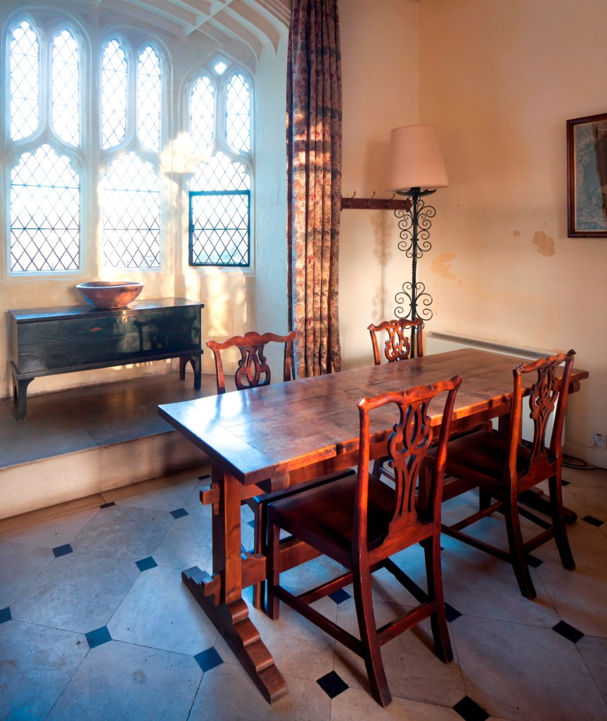 Inside the Gatehouse at Cawood Castle