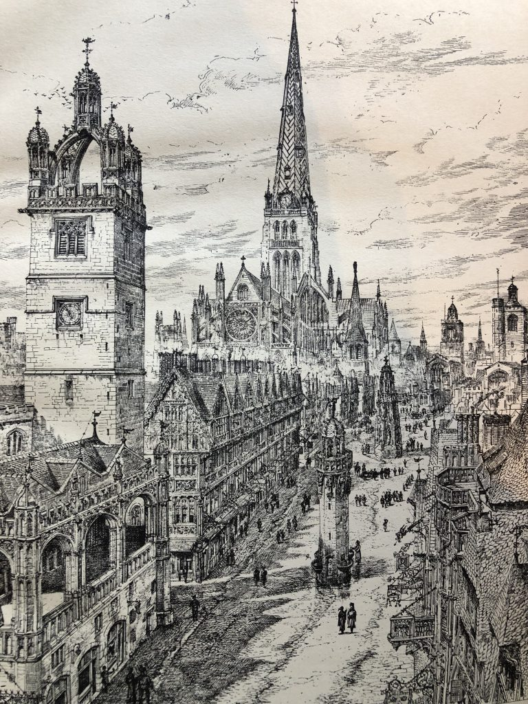 Cheapside: Anne Boleyn's coronation procession came down this street on her way to Westminster.