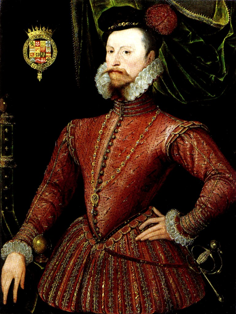 A portrait of Robert Dudley