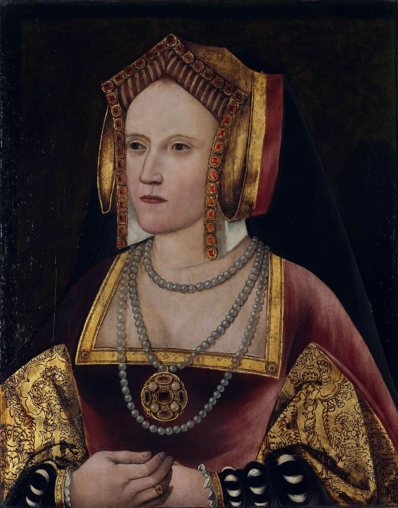 Katherine of Aragon in later life: held in exile at Buckden Palace