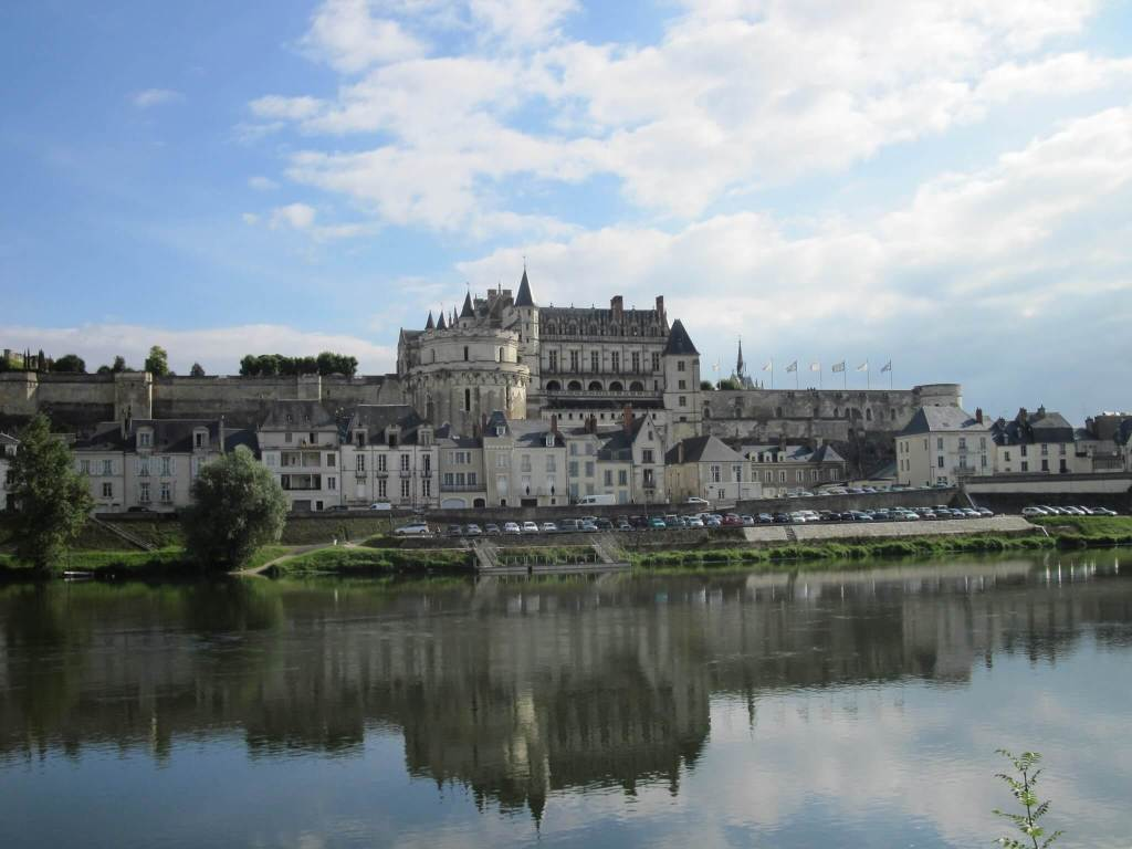 Château d'Amboise in the Loire Valley, a place in France linked to Mary Queen of Scots' early life