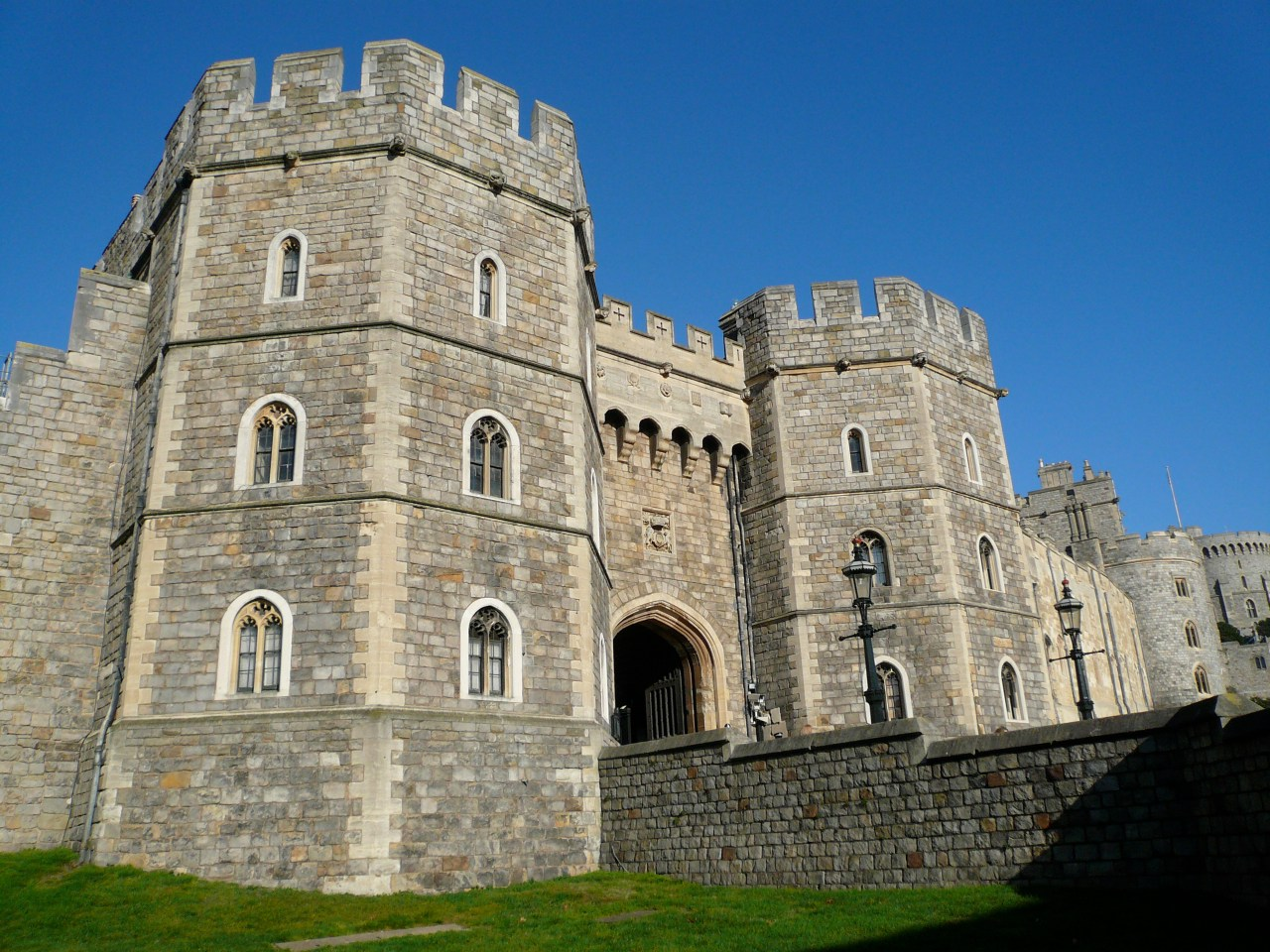Henry VIII Gateway at Windsor Castle