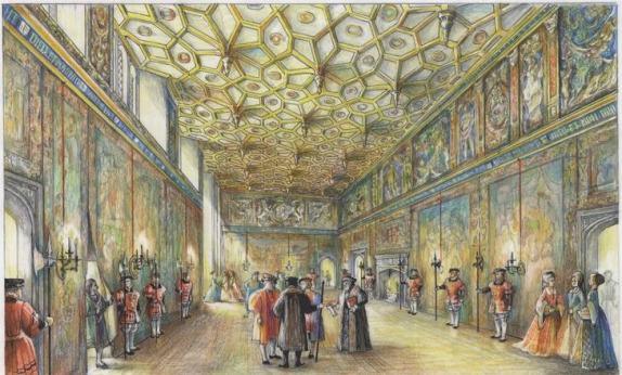 A Tudor Palace Hampton Court's Great Watching Chamber