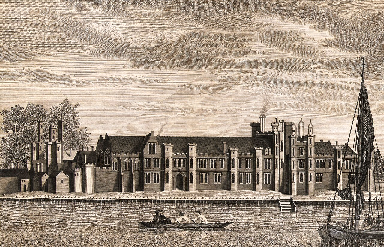 Greenwich palace covered in the Houses of Power