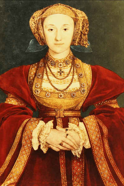 Anne of Cleves commissioned the Anne of Cleves' panels