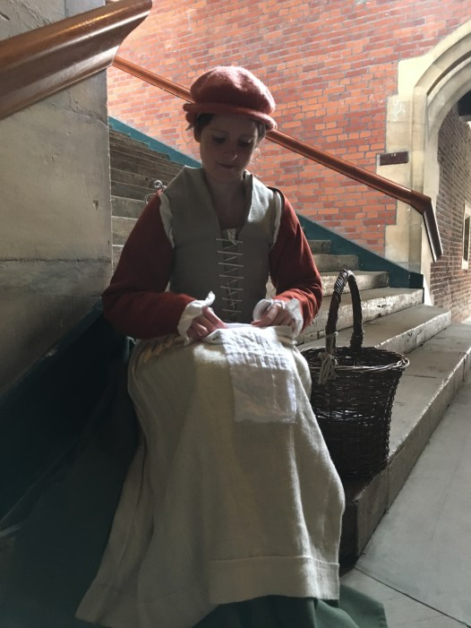 The dress of Henry VIII's laundress
