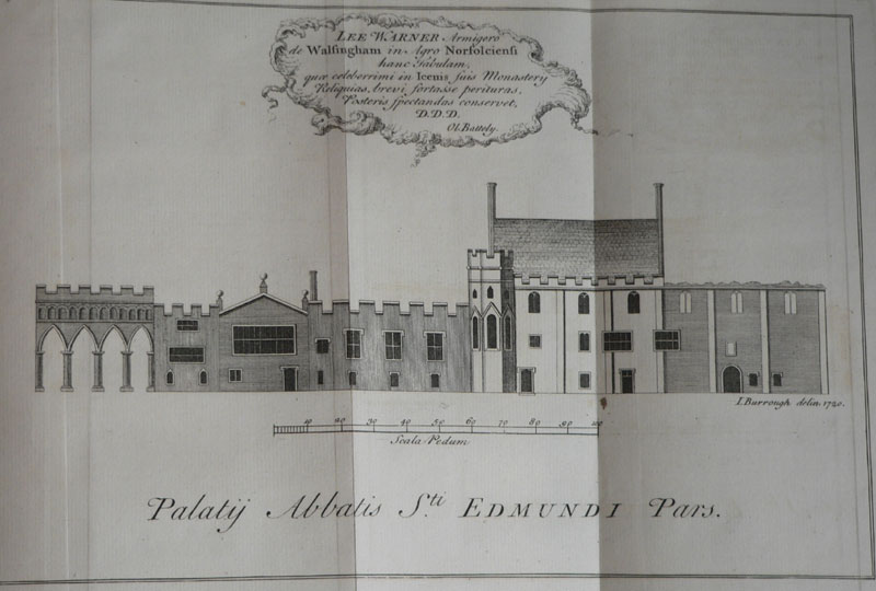 The Abbot's Palace at St Edmundsbury Abbey