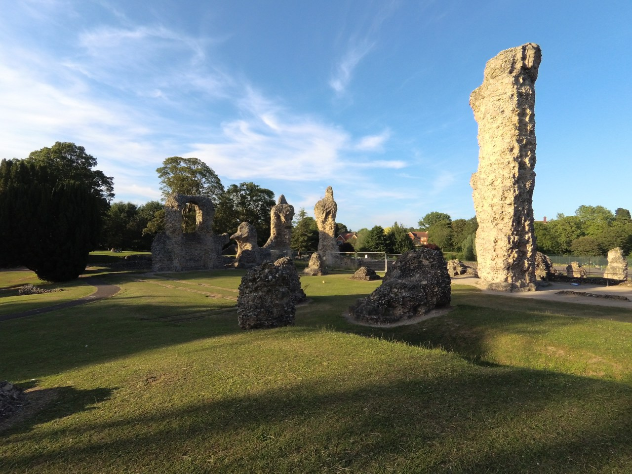 Ruins of St Edmundsbury Abbey