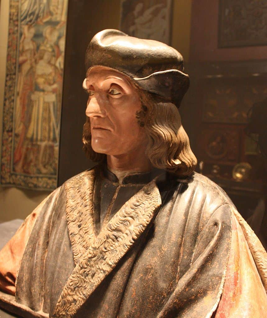 Henry VII, father of Henry VIII