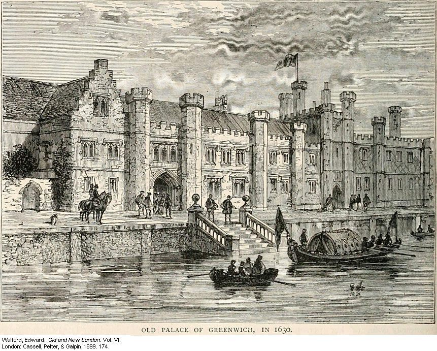 Greenwich Palace waterfront