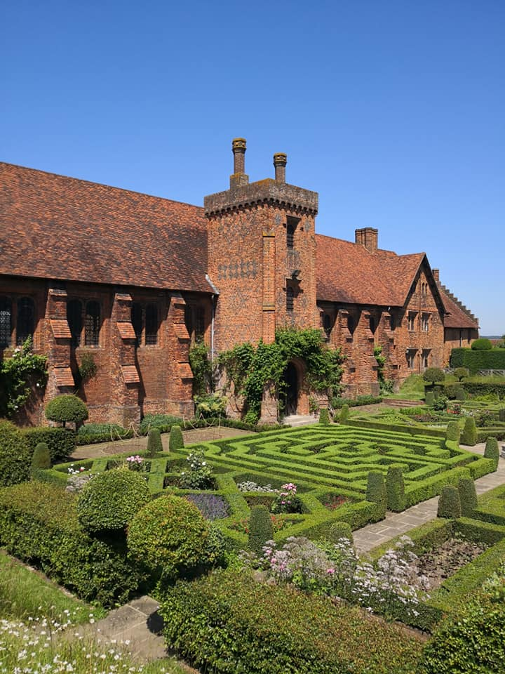 The west range of Hatfield's Tudor palace