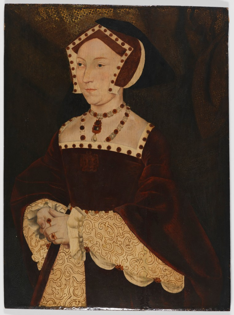 Jane Seymour (unrestored portrait)