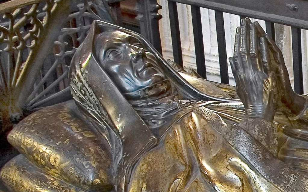 Margaret Beaufort's effigy in Westminster Abbey