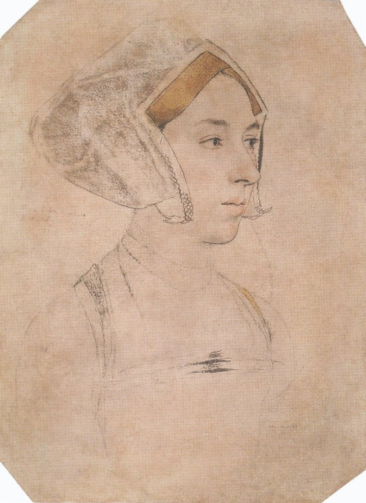 Drawing of Anne Boleyn