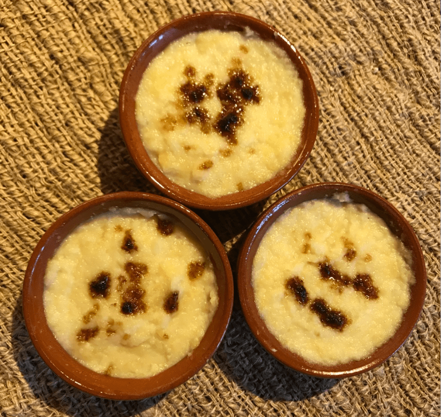 Anne Boleyn inspired recipes - Apple Mousse with Almond Milk