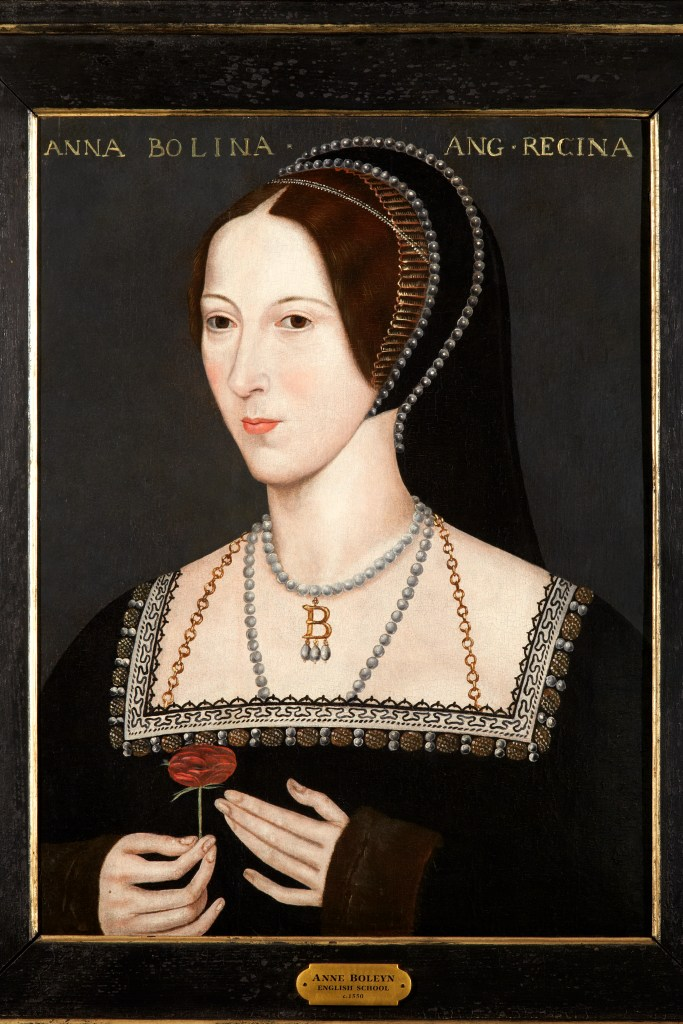 The Hever Rose portrait of Anne Boleyn