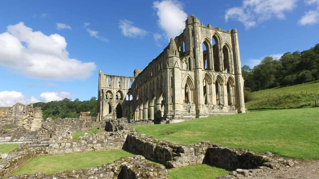 The Ruins of Rievaulx Abbey