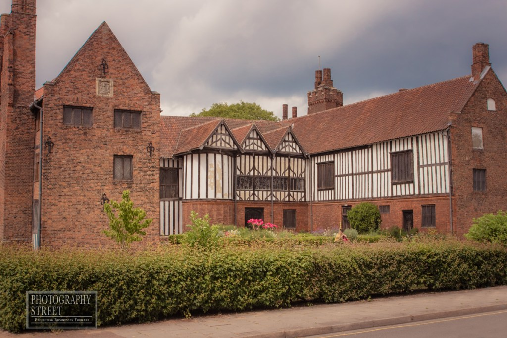 Gainsborough Old Hall from the south west.