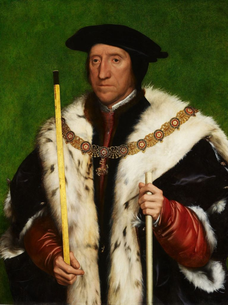 Oil painting of Thomas Howard, 3rd Duke of Norfolk