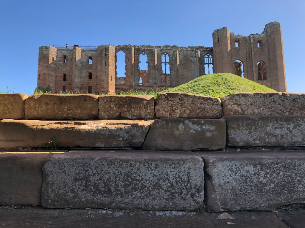 Kenilworth Castle in ruins
