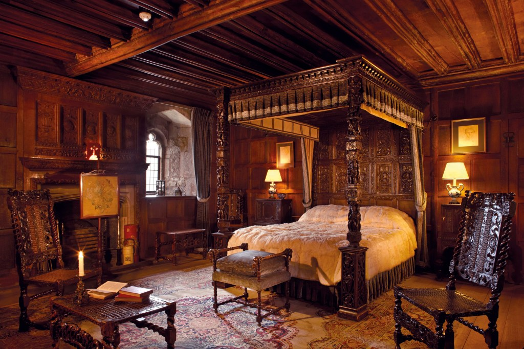 The Henry VIII Bedroom at Hever