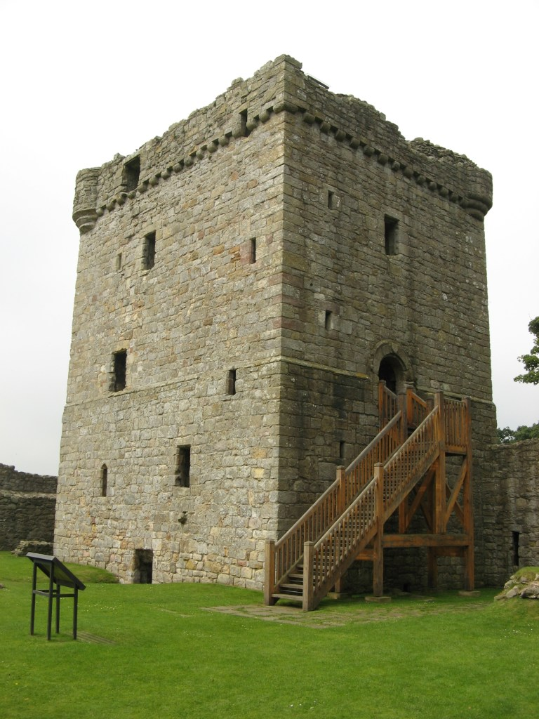 The Tower House at Loch Leven Castle