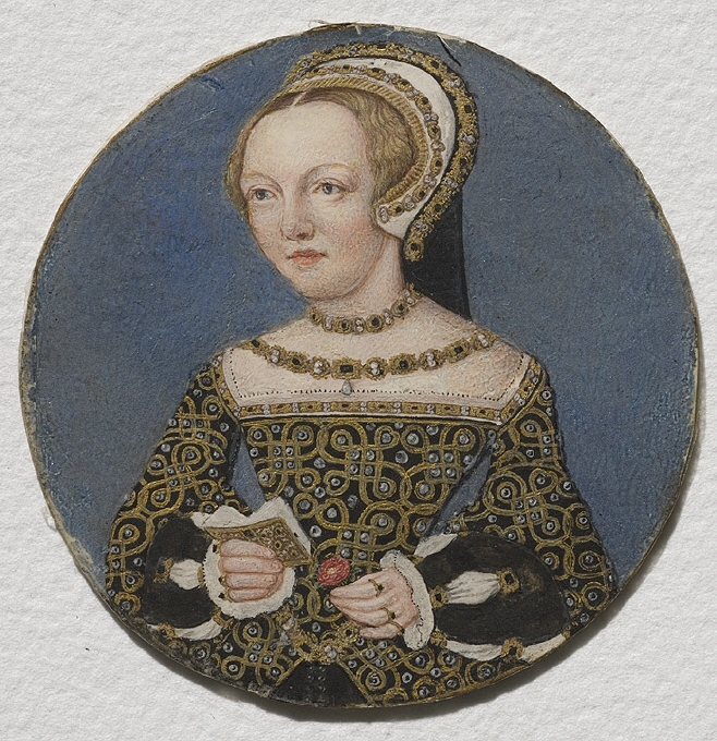 Portrait of a lady, often attributed as Mary Howard, Duchess of Richmond