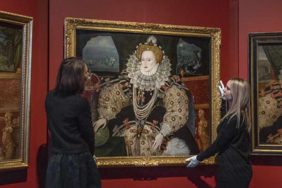 The Armada Portraits of Elizabeth I, on display at Queen's House, Greenwich, which is one of the many free museums in London