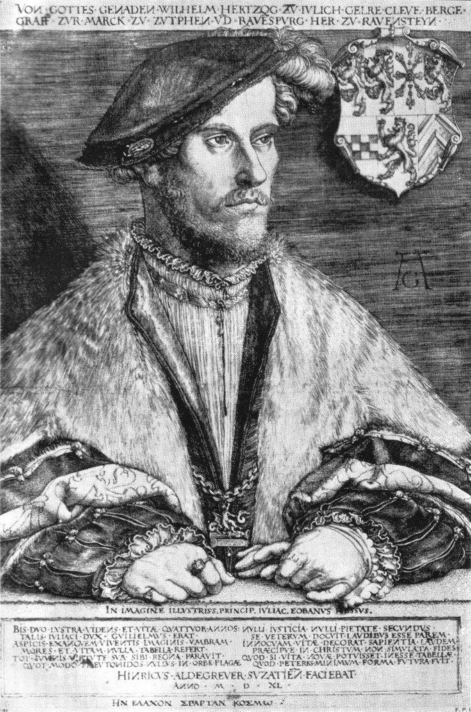 Image of Duke Wilhelm V of Kleves