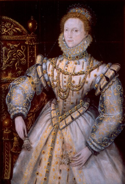 A portrait of Elizabeth I by an unknown artist