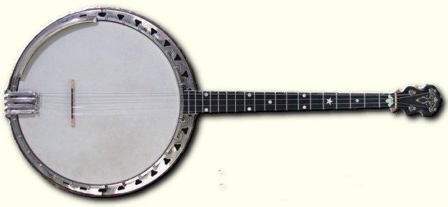 5 string banjo chords open g