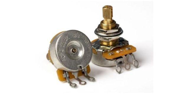CTS 250k Audio guitar potentiometers