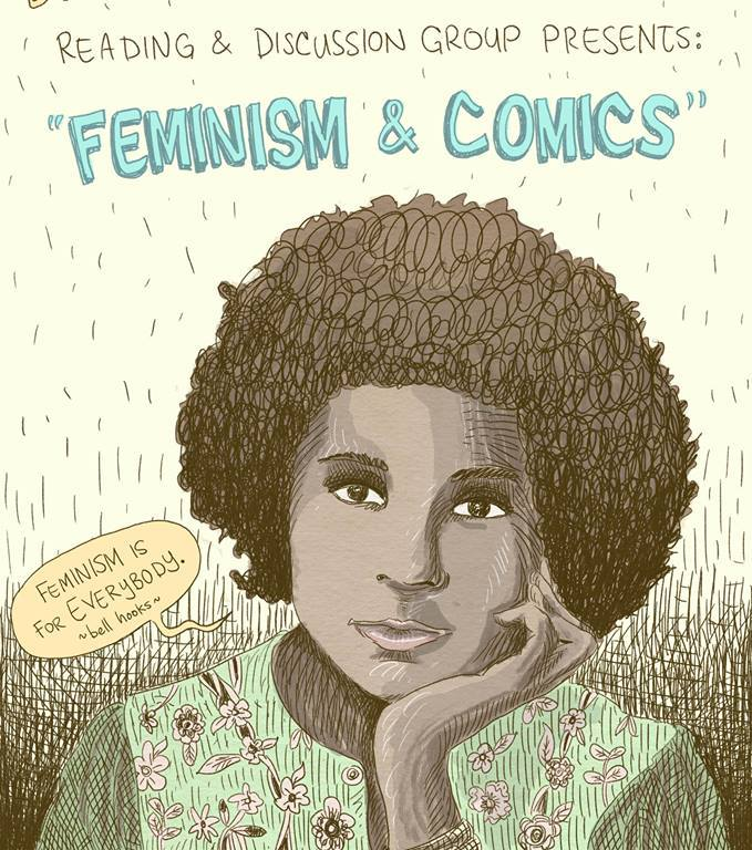 Feminism and Comics bell hooks Mike Medaglia