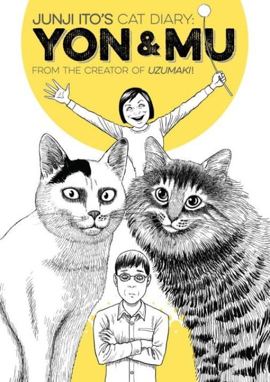 Junji Ito's Cat Diary: Yon & Mu Kodansha Turnaround