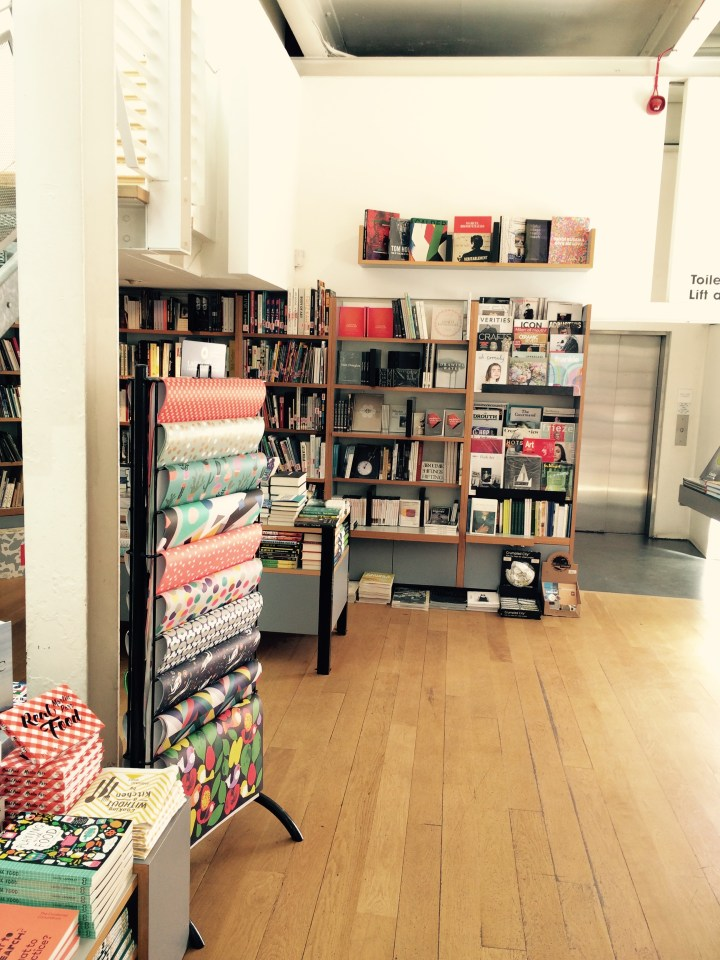 Photo of Bookshop April 16 -1