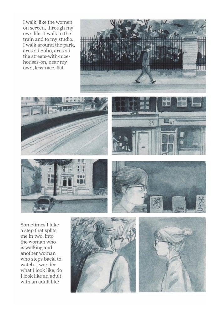 Lizzy Stewart - Walking Distance - graphic novel