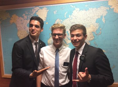 My two Portuguese speaking elders the night before they transferred. Elder Ferriera and Elder Erhardt. Love them. Serving in the Portugal mission.