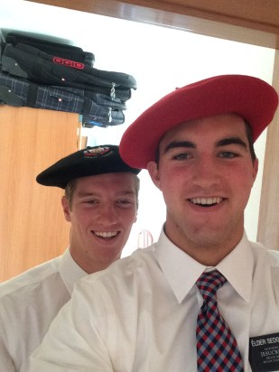 Just trying to fit in - Elder Simple and Elder Sedgwick