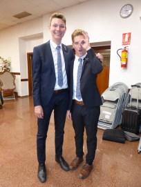 Elder Dunn and Elder Turner