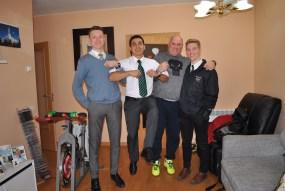With Elder Dunn and Elder Ramirez in Vic