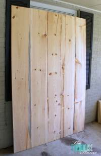 DIY Barn Doors | The Turquoise Home