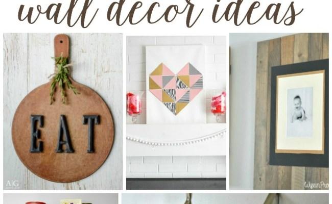 7 Diy Wall Decor Ideas Work It Wednesday Place Of My Taste