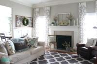 Farmhouse Living Room Curtains | Curtain Menzilperde.Net