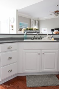 Install New Cabinet Pulls (the easy way!)