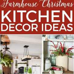 Decorating Ideas Kitchens Red Kitchen Table Set 14 Fabulous Farmhouse Christmas The Turquoise Home Decor All Inspiration You Need To Decorate Your For