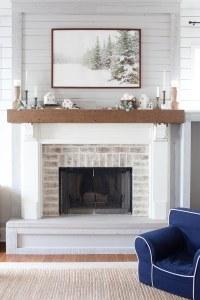 How to Make Home Goals & Fireplace Makeover Inspiration