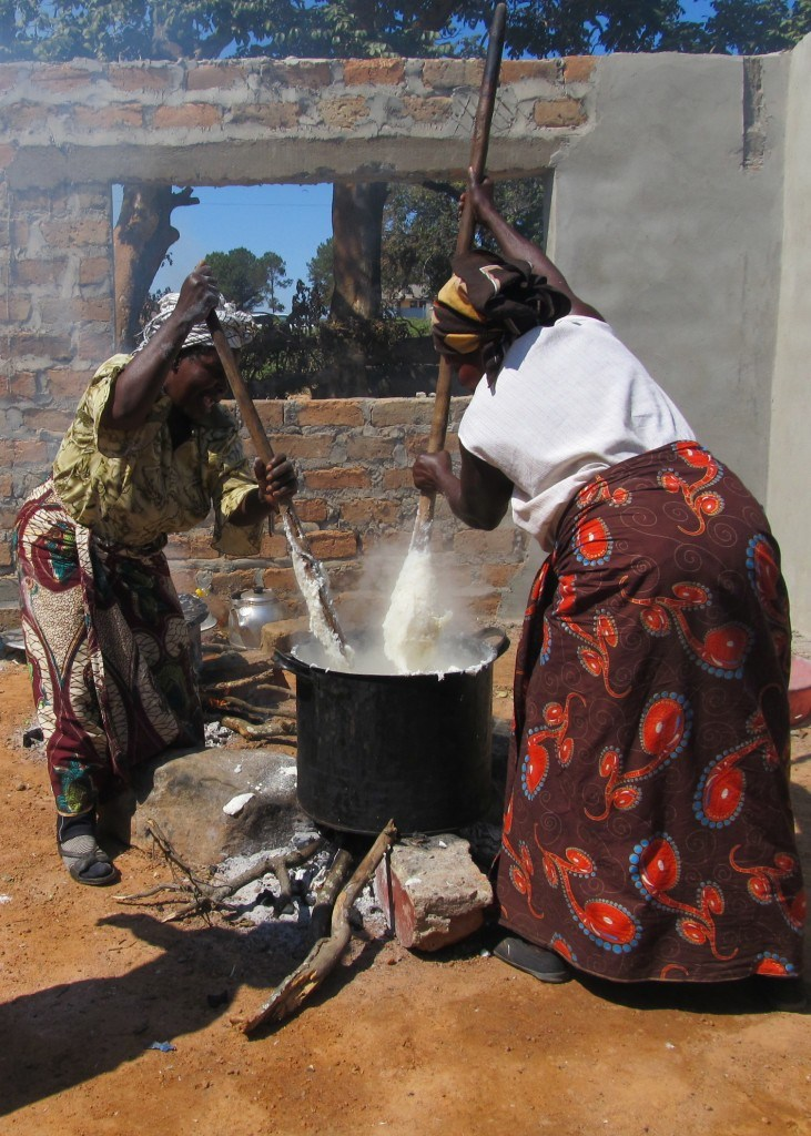 Nshima: A Staple Food in Zambia | theturquoisetable.com