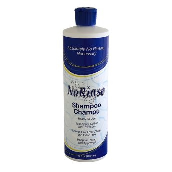 No-Rinse Shampoo by Clean Life | great for recovering from surgery or when water is limited on foreign travel | kristinschell.com