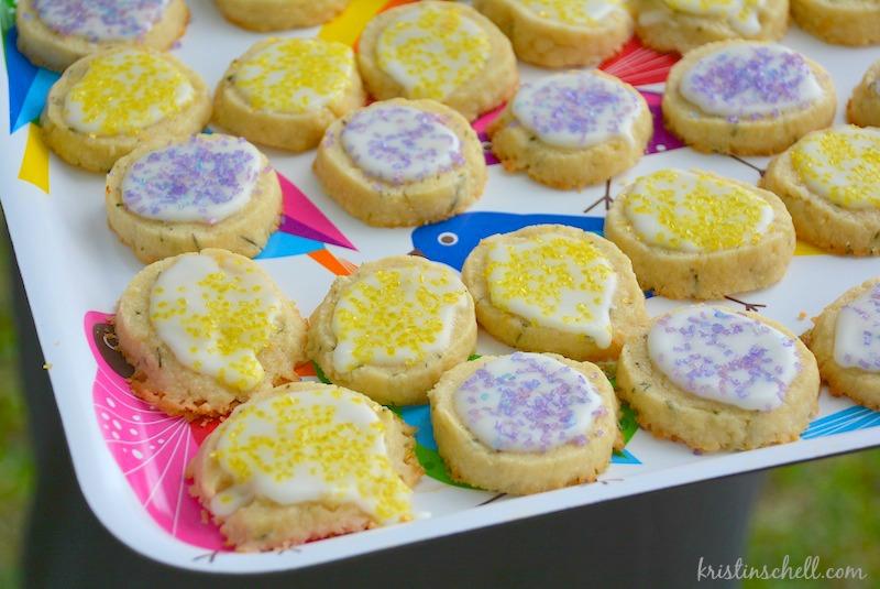 Lemon Rosemary Cookies   kristinschell.com